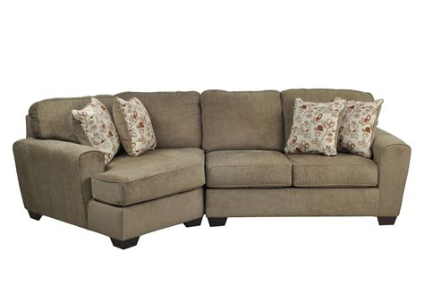 cuddler chaise patola park 2 piece sectional w laf cuddler chaise