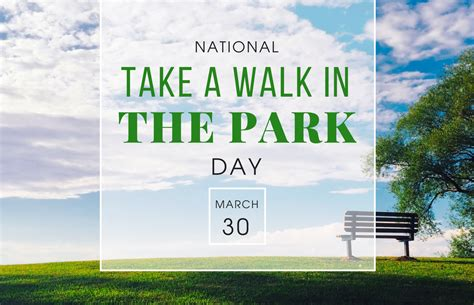 s day in the park take a walk in the park day innov8tive nutrition