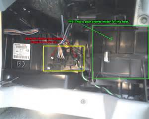 how to repair a jeep gc heater resistor how to repair