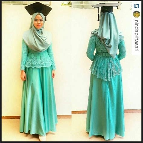 gambar baju kebaya muslim wisuda 14 model baju kebaya terbaik untuk acara wisuda baju terbaru