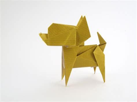 Origami Pets - chihuahua fuchimoto muneji gilad s origami page