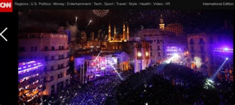 Beirut 2018 Free Pics New Year S In Downtown Beirut New York Style Beirut Ranks 7 Worldwide