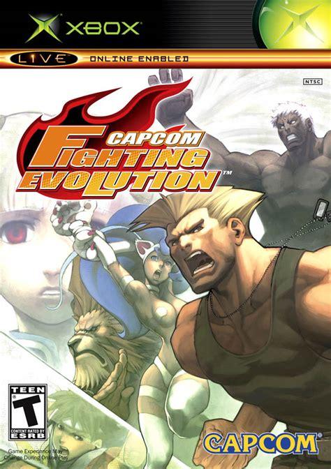 capcom fighting evolution xbox