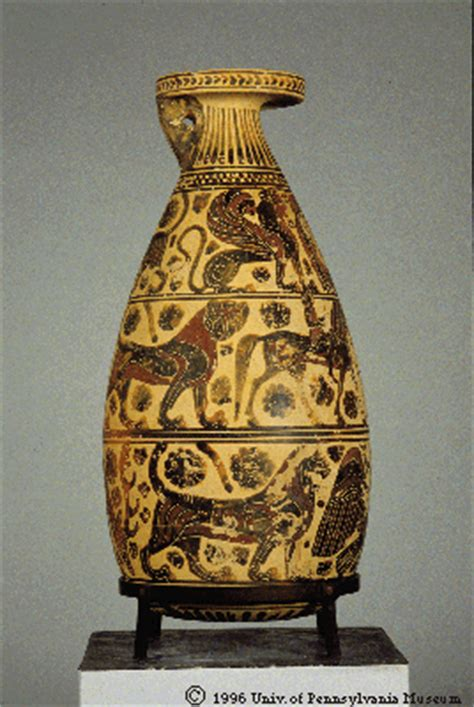 Ancient Hora Vases by Alabastron Pottery