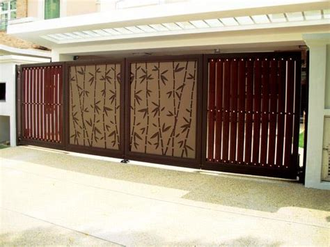 modern gate design for house modern homes main entrance gate designs home decorating