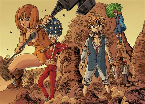 the seven deadly the seven deadly sins wallpapers wallpaper cave