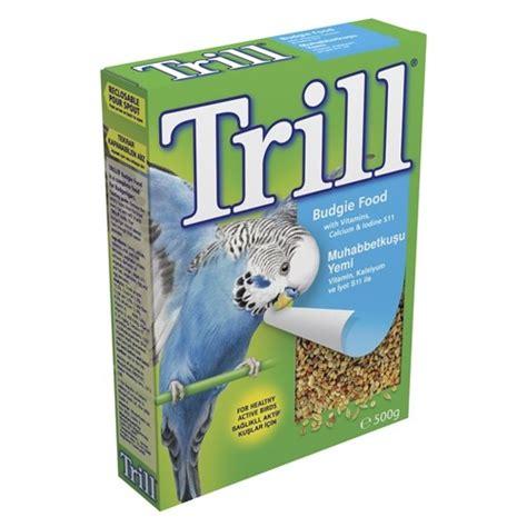 trill bird seed trill budgie seed 500g