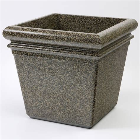 Commercial Indoor Planters by Commercial Zone 174 18 Quot Stonetec Indoor Or Outdoor Planter Aspen