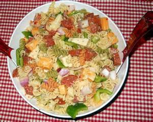 pasta salas zesty italian pasta salad kiddies corner