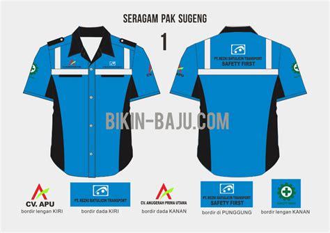 desain kemeja safety desain baju kerja lapangan ini akan membuat anda tetap