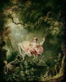 The Swing The Swing By Jean Honore Fragonard