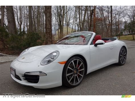 porsche 911 convertible white 2013 porsche 911 carrera s cabriolet in white 155062