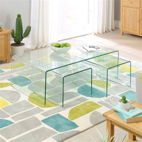 Geo Glass Coffee Table Venetian Mirrored Furniture Archives The Furniture Market