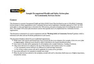 safety bulletin template health and safety plan templates 18 free word pdf