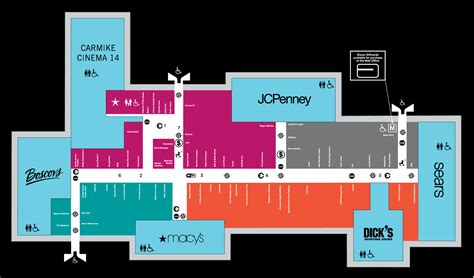 layout of christiana mall mall map of dover mall 174 a simon mall dover de