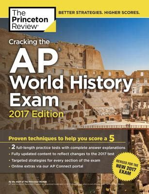 sterling test prep ap world history complete content review for ap books cracking the ap world history 2017 edition proven