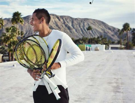 aussie tennis star nick kyrgios is officially our new