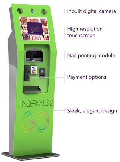 Finger Nail Vending Machine