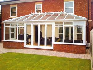 Pvc edwardian conservatories hallmark conservatories