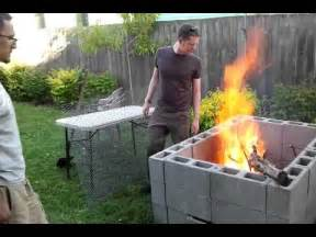 diy backyard bbq pit the in burn