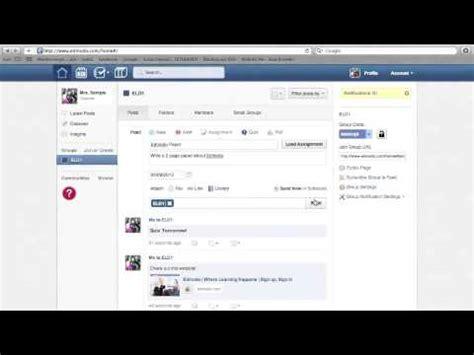 tutorial edmodo youtube edmodo tutorial basic for teachers youtube