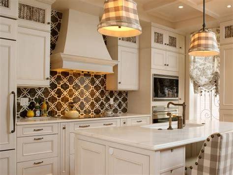 backsplash designs for small kitchen kitchen backsplash design ideas hgtv