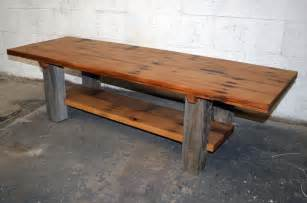 reclaimed barn wood coffee sofa table the best wood furniture