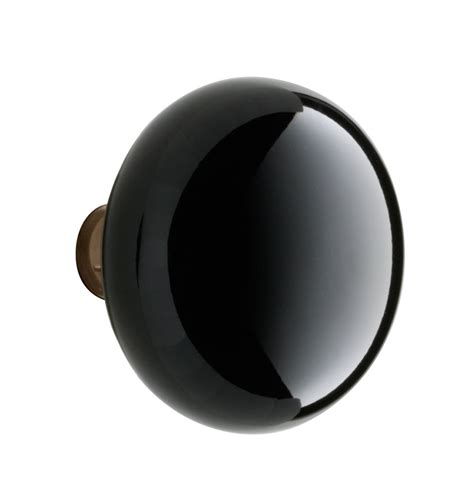 Black Porcelain Door Knobs black porcelain door knob rejuvenation