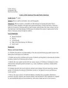 final lesson plan outline native american 1