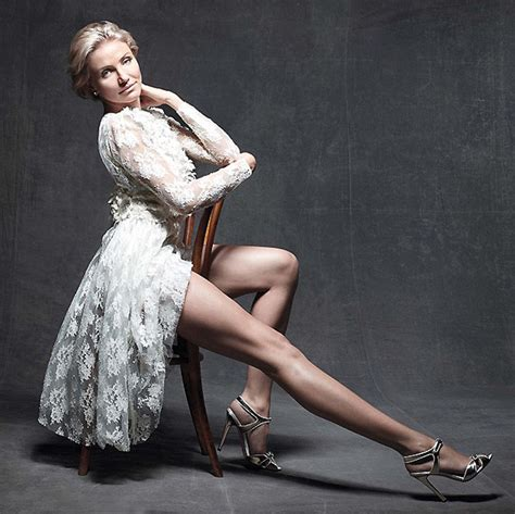 As Seen In Legs Are Instyle by Style Cameron Diaz Gets Leggy With It