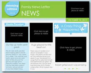 Free Newsletter Templates Downloads For Word by 7 Family Newsletter Templates Free Word Documents