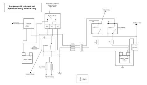 campervan wiring diagram van trailer wiring diagram