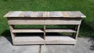 Entryway Table With Drawers Diy Pallet Entryway Table And Shoe Rack 101 Pallets