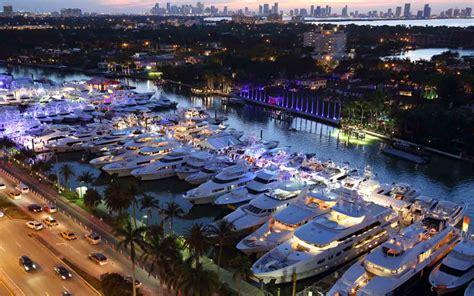 boat show miami 2019 saiba quais s 227 o as novidades para o miami yacht show 2019