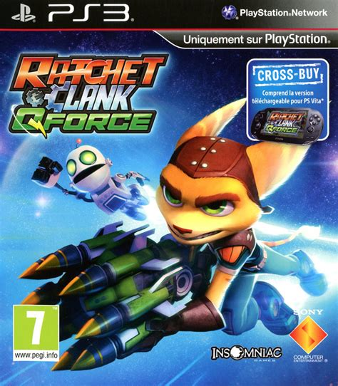 Ratchet Clank In Time Ps3 Reg 1 ratchet clank qforce sur playstation 3 jeuxvideo
