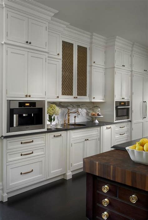 chicken wire backsplash chicken wire cabinet doors transitional kitchen