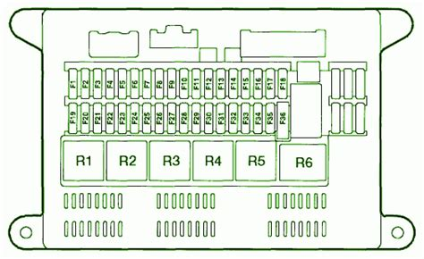 1998 ford fuse panel diagram 1998 free engine image for