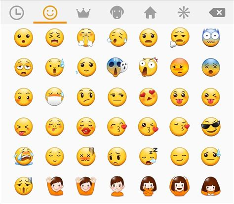 iphone emoji on android image gallery samsung emojis