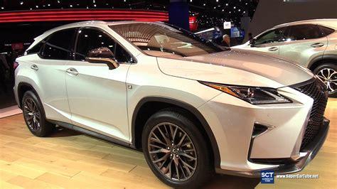 lexus suv rx 2017 interior 2017 lexus rx 350 f sport exterior and interior