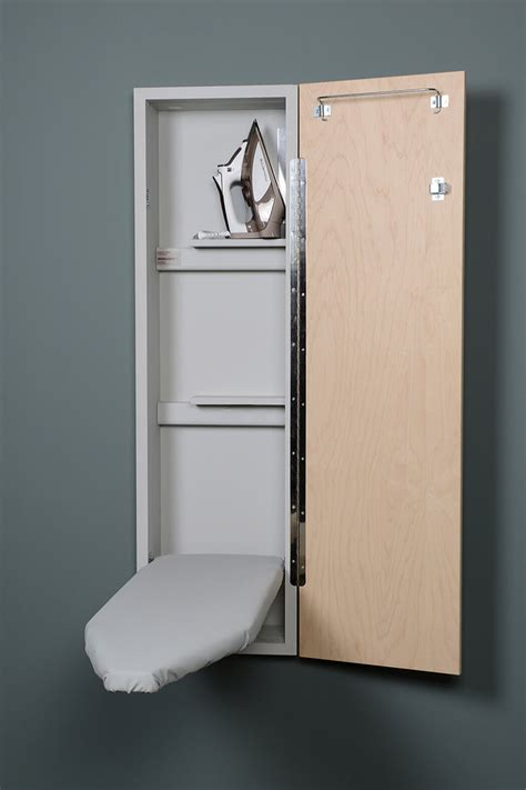 wall mounted ironing board cabinet wall mounted fold ironing board fold ironing