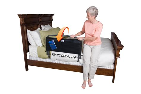 bed safety rails 30 inch safety bed rail padded pouch by stander daily care for seniors