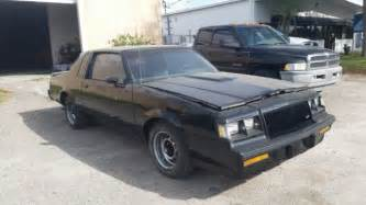 Buick Grand National Specs 1987 Buick Grand National Barn Find 1 Owner Florida Car