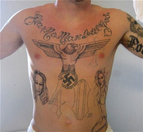 white supremacy tattoos white prison tattoos pictures to pin on