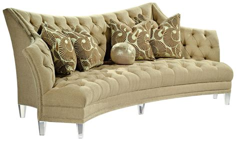 fabric covered sofas contemporary style sofa covered in a sophisticated oatmeal