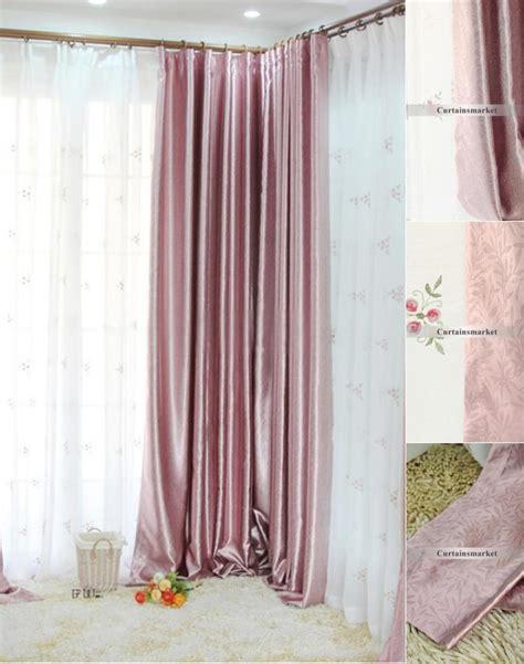home decoration curtains light pink curtains beautiful pink decoration