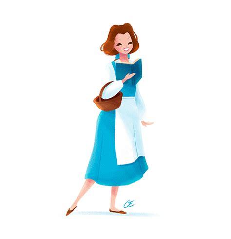 Behance Login by Belle Childhood Animated Movie Heroines Fan Art