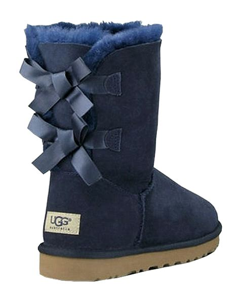 ugg boots with bows blue ugg boots with bows