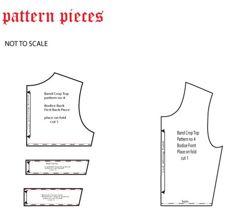 pattern making nigeria sewing tutorial and pattern learn how to make a band crop