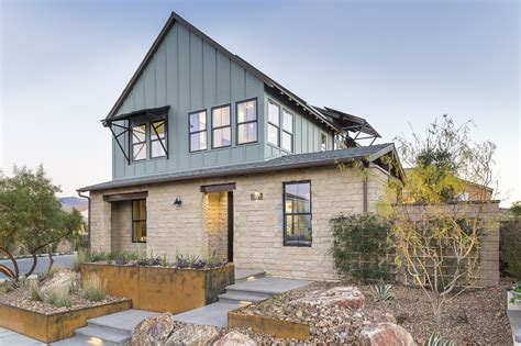 modern farmhouse elevations in the southwest the new home on the range has outdoor