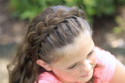 Braid Hairstyles For Ages 5 7 by The Split Headband Hairstyles For Hair
